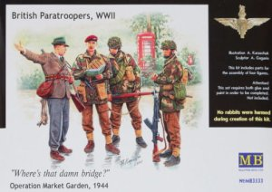 MASTER BOX 3533 - 1:35 British paratroopers, 1944. Kit 1