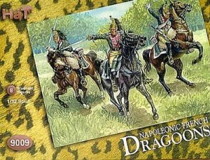HAT 9009 - 1:32 Napoleonic French Dragoons