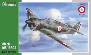 SPECIAL HOBBY 32063 - 1:32 Bloch MB.152C1 Early Version