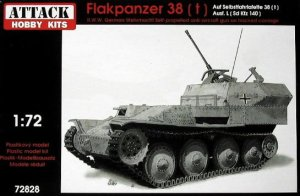 ATTACK 72828 - 1:72 Flakpanzer 38 (t)