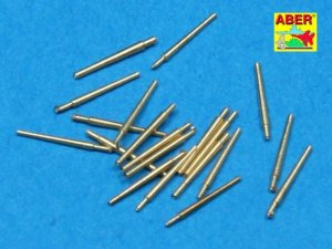 ABER 1:700L-13  - 1:700 Set of 20 pcs 127 mm universal barrels for US Navy ships