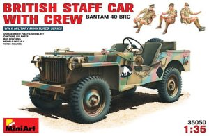 MINIART 35050 - 1:35 British Staff Car w/Crew