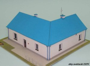 WEKTOR MINI 10 - 1:87 (H0) Country club-room in Franciszkow