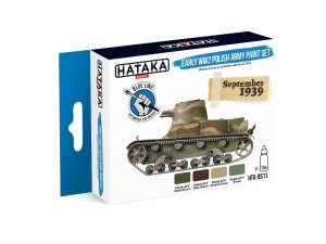 HATAKA BS11 - Early WW2 Polish Army paint set