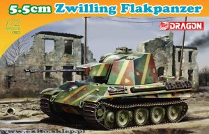 DRAGON 7488 - 1:72  5.5cm Zwilling Flakpanzer