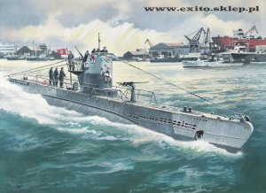 ICM S.010 - 1:144 U-Boat Type IIB (1943) German Submarine
