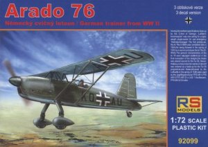 RS MODELS 92099 - 1:72 Arado 76