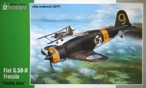 SPECIAL HOBBY 32044 - 1:32 Fiat G.50-II Freccia - Finnish Aces
