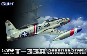 GREAT WALL HOBBY 4819 - 1:48 T-33A Shooting Star Early Version