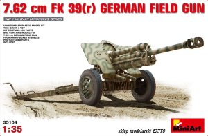 MINIART 35104 - 1:35 7.62cm FK 39(r) German Field Gun