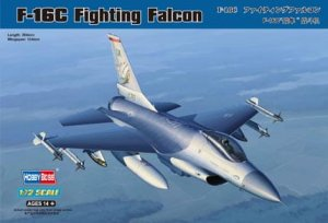HOBBY BOSS 80274 - 1:72 F-16C Fighting Falcon