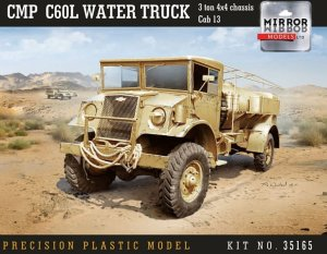MIRROR MODELS 35165 - 1:35 CMP Chevrolet C60L Water Truck 3 ton 4x4 chassis Cab 13