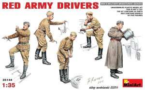MINIART 35144 - 1:35 Red Army Drivers