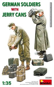 MINIART 35286 - 1:35 German soldiers with jerry cans