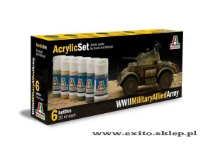 ITALERI 440 AP - WWII Military Allied Army - Acrylic Set