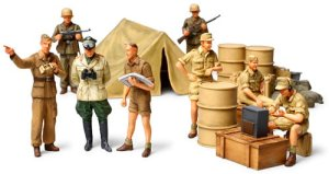 TAMIYA 32561 - 1:48 German Africa Infantry Set