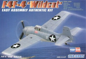 HOBBY BOSS 80220 - 1:72 F4F-4 Wildcat