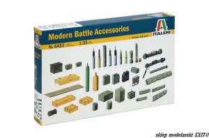 ITALERI 6423 - 1:35 Modern Battle Accessories