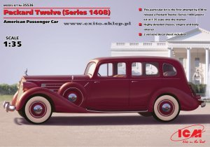 ICM 35536 - 1:35 Packard Twelve (Series 1408) - American Passenger Car