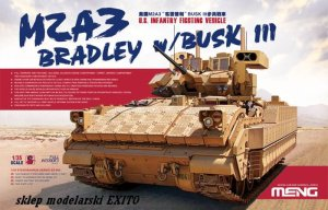 MENG MODEL SS004 - 1:35 U.S.Infantry Fighting Vehicle M2A3 Bradley w/BUSK III