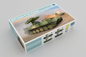 TRUMPETER 05554 - 1:35 9K35 Strela-10 SA-13 Gopher Surface-to-Air Missile System