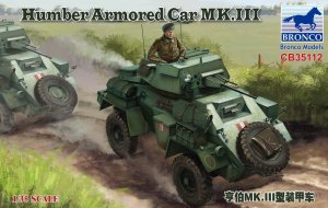 BRONCO CB 35112 - 1:35 Humber Armored Car Mk.III