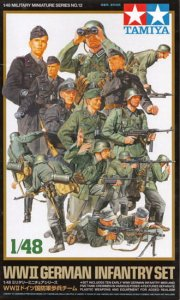 TAMIYA 32512 - 1:48 WWII German Infantry Set