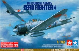 TAMIYA 25170 - 1:72 Mitsubishi A6M2b Zero Fighter w/8 marking options - Limited Edition