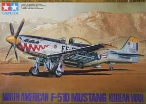 TAMIYA 61044 - 1:48 North American F-51D Mustang Korean War