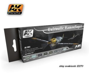 AK INTERACTIVE 2001 - Luftwaffe Camouflages - Air Series