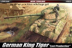 ACADEMY 13229 - 1:35 German King Tiger - Last Production