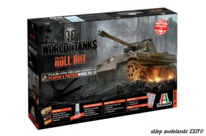 ITALERI 36506 - 1:35 World of Tanks - Pz.Kpfw.V Panther