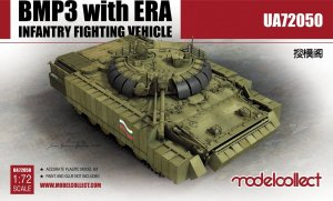 MODELCOLLECT UA72050 - 1:72 BMP3 with ERA Infantry Fighting Vehicle
