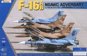 KINETIC 48004 - 1:48 F-16A/B NSWAC Adversary
