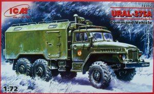 ICM 72712 - 1:72 Ural 375A, Command Vehicle