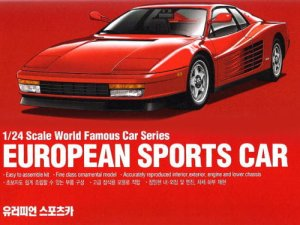 ACADEMY 15526 - 1:24 European Sports Car