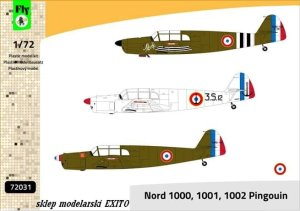 FLY 72031 - 1:72 Nord 1000,1001,1002 Pingouin