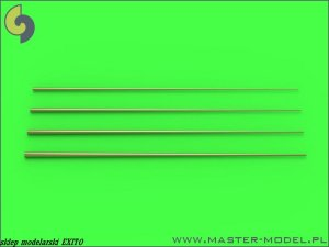 MASTER SM-350-089 - 1:350 Set of universal tapered masts No1 (length = 100mm each, diameters = 0,3/1,2mm; 0,4/1,5mm; 0,5/1,8mm; 0,6/2mm)