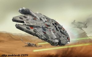 REVELL 06694 - 1:72 Millennium Falcon - easy kit