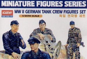 ACADEMY 13253 - 1:35 German tank crew figures