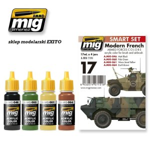 AMMO MIG 7151 - Modern French Armed Forces Colors - Smart Set