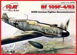 ICM 48106 - 1:48 Bf 109 F-4/R-3 WWII German Fighter Reconnaissance