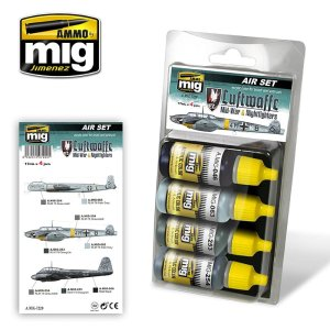AMMO MIG 7220 - Luftwaffe Mid War & Nightfighters Colors - Air Set