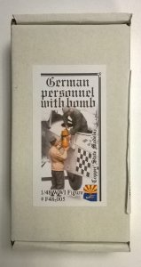 COPPER STATE MODELS CSM F48005 - 1:48 German personnel WWI - bomb loading