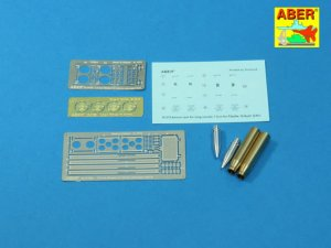 ABER 16075B - 1:16 Pz.Kpfw. IV, Ausf.H Vol.16B - Ammo stowage rack type B for long rounds
