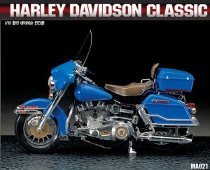 ACADEMY 15501 - 1:10 Harley Davidson Classic