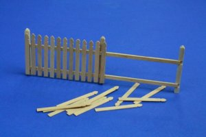 RB MODEL 35D01 - 1:35 Wooden fence