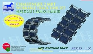 BRONCO AB 3523 - 1:35 Challenger 2 MBT Workable Track Link Set