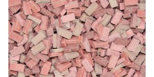 JUWEELA 23033 - 1:35 Bricks brick-red mix - Cegły czerwone mix 500 szt
