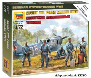 ZVEZDA 6187 - 1:72 Soviet airforce ground crew